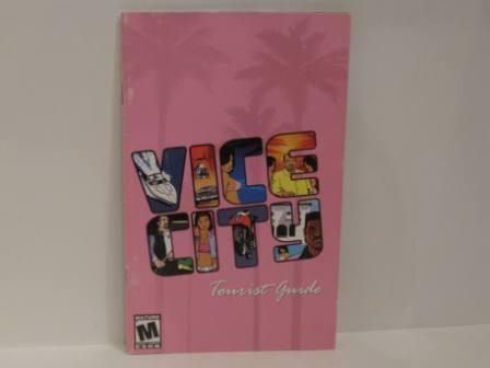 Grand Theft Auto: Vice City - PS2 Manual